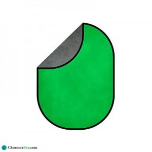 فون پرتابل سبز/طوسی 200×150 (پرده سبز کروماکی)